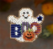 Mill Hill Autumn Harvest 2006 Series - Boo Ghost THUMBNAIL