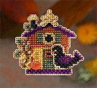 Mill Hill Autumn Harvest 2006 Series - Halloween House THUMBNAIL