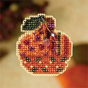 Mill Hill Autumn Harvest 2007 Series - Jeweled Pumpkin THUMBNAIL