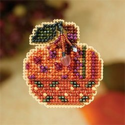 Mill Hill Autumn Harvest 2007 Series - Jeweled Pumpkin MAIN