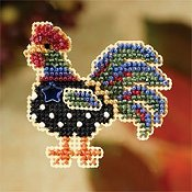 Ornament Series 2007 Autumn Harvest - Provence Rooster