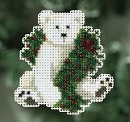 Ornament Series 2010 Winter Holiday - Holiday Polar Bear
