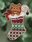 Ornament Series 2010 Winter Holiday - Kittys Stocking THUMBNAIL