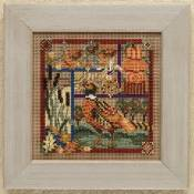 Buttons & Beads 2009 Autumn Series - Pheasant Sampler THUMBNAIL