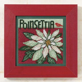 Buttons & Beads 2009 Winter Series - Poinsettia MAIN
