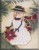 Mill Hill Snow Charmer Kit - Poinsettia THUMBNAIL
