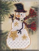 Mill Hill Snow Charmer Kit - Star THUMBNAIL
