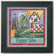 Mill Hill Sticks Kit - Enjoy Life THUMBNAIL