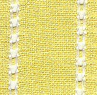 "Mill Hill Stitch Band - Celeste 27ct Yellow/Antique White 2"" wide_MAIN"