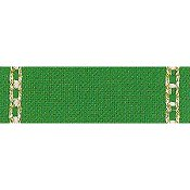 "Mill Hill Stitch Band - Celeste 27ct Green/Gold 3.1"" wide THUMBNAIL"
