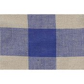 "Mill Hill Stitch Band - Woven Checks 24ct. Natural/Royal Blue 8.3"" wide THUMBNAIL"