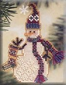 Mill Hill Snow Charmer Kit - Stocking THUMBNAIL