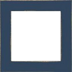 Mill Hill Wood Frame - 6x6 Matte Blue MAIN