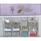 Mirabilia Designs - Winter White Santa Embellishment Pack
