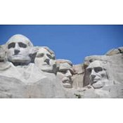 Whimsical Edge Designs Needle Minder - Mount Rushmore THUMBNAIL