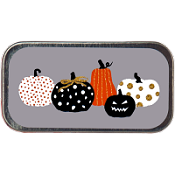 Just Nan - Needle Slide - Pumpkin Party Mini Slide THUMBNAIL