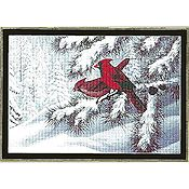 Mystic Stitch - Winter Cardinals THUMBNAIL