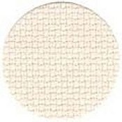 Color swatch of 16ct natural light Aida cross stitch fabric