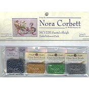 Nora Corbett - Christmas Eve Couriers - Santa's Sleigh Embellishment Pack