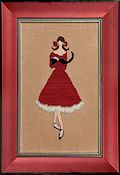 Nora Corbett - Red Ladies Collection - Red Kitten