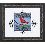 Nora Corbett - Audubon Street Collection - Scarlet Tanager