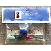 Nora Corbett - Pixie Blossoms Collection - Zinnia Embellishment Pack