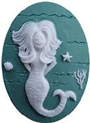 Kelmscott Designs Needle Minder - Sea Hag Mermaid THUMBNAIL