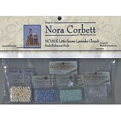 Nora Corbett - Little Snowy Lavender Church Embellishment Pack