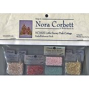 Nora Corbett - Little Snowy Pink Cottage Embellishment Pack_THUMBNAIL
