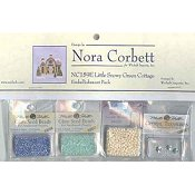 Nora Corbett - Little Snowy Green Cottage Embellishment Pack