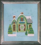 Nora Corbett - Little Snowy Green Cottage_THUMBNAIL
