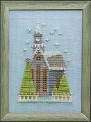 Nora Corbett - Little Snowy Lavender Church_THUMBNAIL