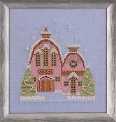 Nora Corbett - Little Snowy Pink Cottage