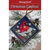 Ornament Chart - Christmas Cardinal THUMBNAIL