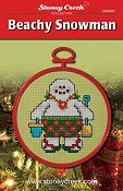 Ornament Chart -  Beachy Snowman THUMBNAIL
