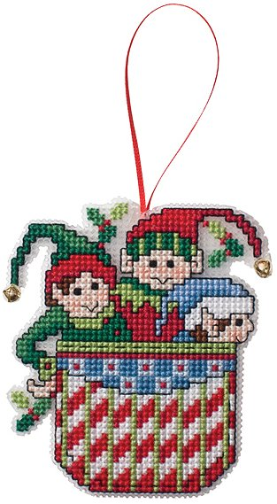 Ornament Chart Elves In A Pocket Stoney Creek Online Store