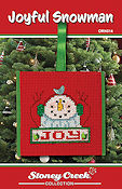 Ornament Chart - Joyful Snowman THUMBNAIL
