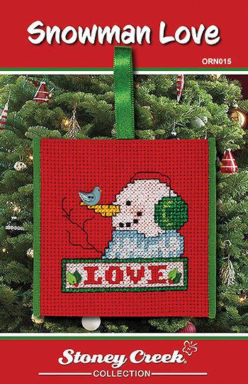 Ornament Chart - Snowman Love MAIN