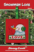 Ornament Chart - Snowman Love THUMBNAIL