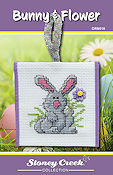 Ornament Chart - Bunny Flower THUMBNAIL