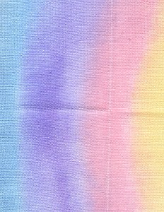 Crossed Wing Collection Over The Rainbow Linen Cross