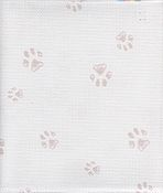 Fabric Flair Paw Prints Aida 14ct