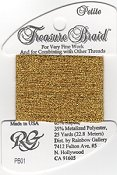 Rainbow Gallery Petite Treasure Braid PB01 Bright Gold