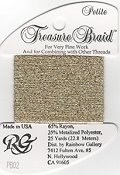 Rainbow Gallery Petite Treasure Braid PB02 Arctic Gold THUMBNAIL