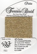 Rainbow Gallery Petite Treasure Braid PB03 Gold THUMBNAIL