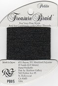 Rainbow Gallery Petite Treasure Braid PB05 Black_THUMBNAIL