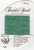 Rainbow Gallery Petite Treasure Braid PB06 Green_THUMBNAIL