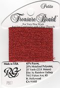 Rainbow Gallery Petite Treasure Braid PB07 Red THUMBNAIL