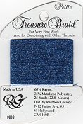 Rainbow Gallery Petite Treasure Braid PB08 Royal Blue THUMBNAIL