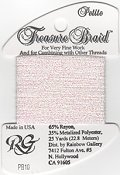 Rainbow Gallery Petite Treasure Braid PB10 White Pearl THUMBNAIL